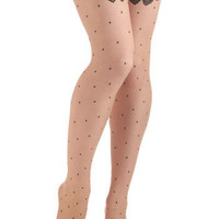 Fan Flair Tights | Mod Retro Vintage Tights | ModCloth.com