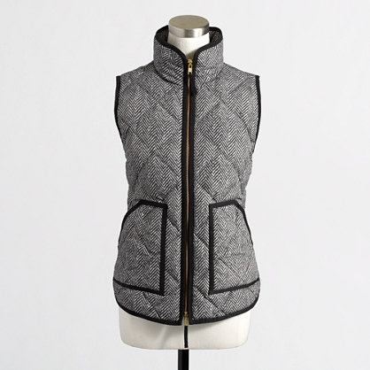 Factory Quilted Puffer Vest In From J Crew Factory Epic