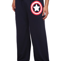 Marvel Universe Captain America Men's Pajama Pants | Hot Topic