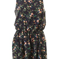 LOVE Annie Print Summer Playsuit