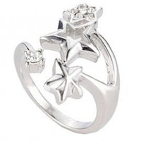 .925 Sterling Silver Cubic Zirconia Ring:Amazon:Jewelry