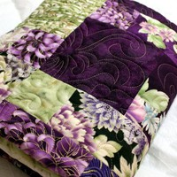 Lap Quilt ORIENTAL ELEGANCE 57 | quiltlover - Quilts on ArtFire