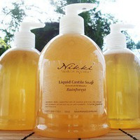 Liquid Castile Soap SuperSize 16oz by nikkicandles on Etsy