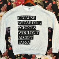 [PREORDER] 'Wizarding School' Sweater