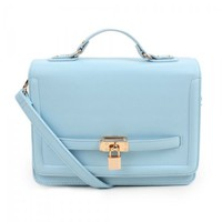Ice Cream Leather Satchel for Women