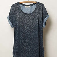 Anthropologie - Ikat Chambray Tee