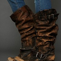 Freebird by Steven  Contra Washed Tall Boot at Free People Clothing Boutique
