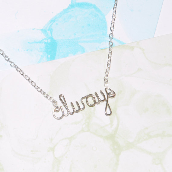 always necklace harry potter snape from exaltation