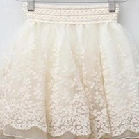 White Skirt from thankyoutoo