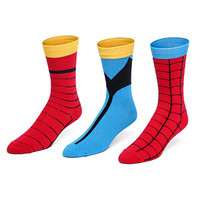 Marvel Superhero Socks Set