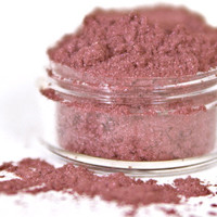 Gerbera - Warm Pink Vegan Mineral Eyeshadow - Handcrafted Makeup