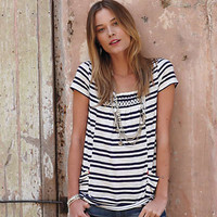 Anthropologie - Striped Marin Tunic