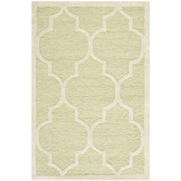 Safavieh Handmade Cambridge Moroccan Light Green Wool Rug (2'6 x 4') | Overstock.com