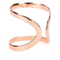 Rose Gold Plated Knuckle Floating Ring * Campbell ☆ mytheresa.com