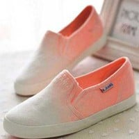 Gradient low canvas shoes,fashion shoes