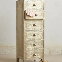 Intaglio Dresser by Anthropologie White One Size Furniture