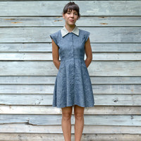 Meeting St Dress // Organic Cotton and Hemp // Made to Order