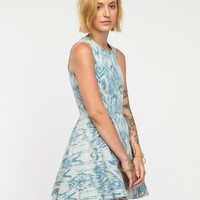 Arrowhead Denim Dress