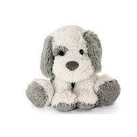 Toys R Us Plush 16 inch Cuddle Dog - Grey