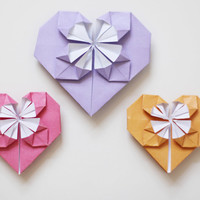 DIY: A Sweet Origami Heart - Free People Blog