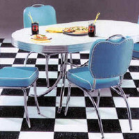 Happy Days 50's Retro Dinette Set