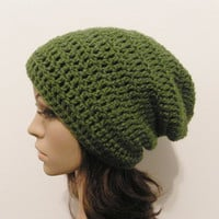 LazyDay Slouch Beanie  Kelly Green