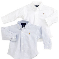 Polo Ralph Lauren Baby Boys Oxford Shirt - Kids Baby Boy (0-24 months) - Macy's