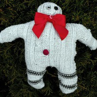 Silly Snowman Soft Rag Doll | Linandara - Folk Art & Primitives on ArtFire