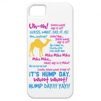 Hump Day Full Script iPhone 5 Case