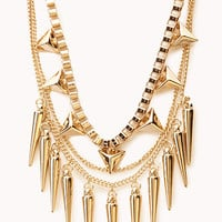 Layered Spiked Necklace | FOREVER 21 - 1000051474