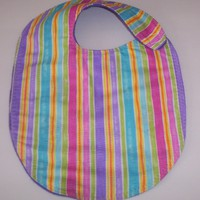 Toddler Baby Handmade Bibs Soft Fleece Lining