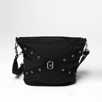 Rothco Vintage One Pocket Shoulder Bag - Black