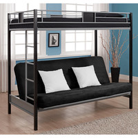 Ameriwood Silver Screen Bunk Bed Twin Over Futon—Buy Now!
