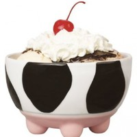 Boston Warehouse Udderly Cows Ice Cream Bowl:Amazon:Kitchen & Dining