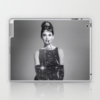 Audrey Hepburn Laptop & iPad Skin by Laure.B