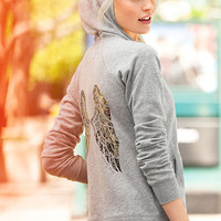 Fleece Graphic Hoodie - Supermodel Essentials - Victoria's Secret