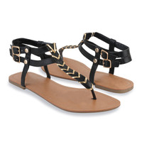 Threaded Thong Sandals | FOREVER21 - 2000041721