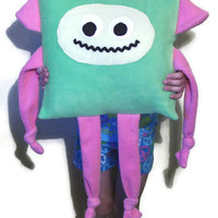 Children's Fun Monster Pillow