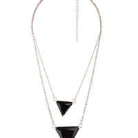 Triangle Chain Necklace | FOREVER21