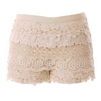 Beloved Crochet Shorts