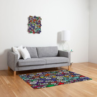 DENY Designs Home Accessories | Romi Vega Buttons Retro Woven Rug