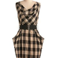You&#x27;ve Got It Plaid Dress | Mod Retro Vintage Dresses | ModCloth.com 