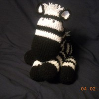 Crocheted Zebra Amigurumi | ninascorner - Crochet on ArtFire