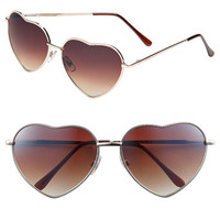 BP. Heart Shaped Sunglasses (Juniors) | Nordstrom