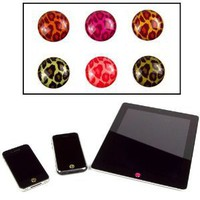 Home Button Sticker (Leopard) for the Apple iPad, iPhone, iPod