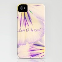 Love & Be Loved iPhone Case by RDelean | Society6