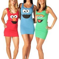 Amazon.com: Sesame Street Tunic Tank Dress: Clothing