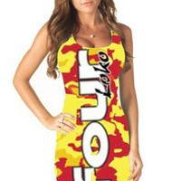 Amazon.com: Four Loko Alcoholic Drink Ladies Tank Dress: Clothing