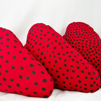 Strawberry Slice Pillow