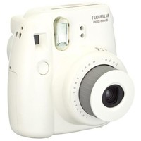 Fujifilm Instax Mini 8 Camera - White - Instant Film - White